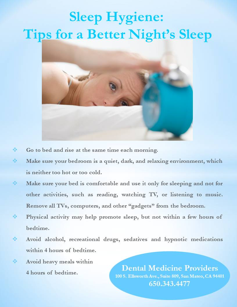 Sleep Hygiene: Tips for a Better Night's Sleep  Dr. Inna
